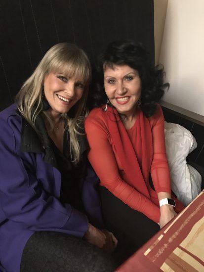 Zuzana Stirská a Chantal Poullain