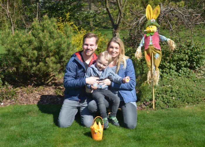 Letošní Velikonoce rodiny Chodúrových