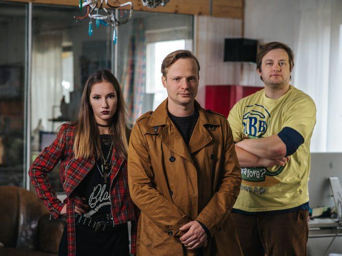 Trio agentury Všechno je jinak (foto MALL.TV)